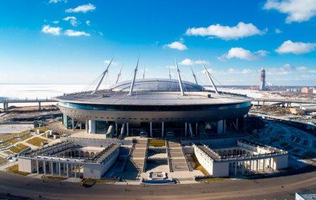 «Газпром Арена» один из 12 стадионов, где пройдут матчи Чемпионата Европы по футболу 2021
